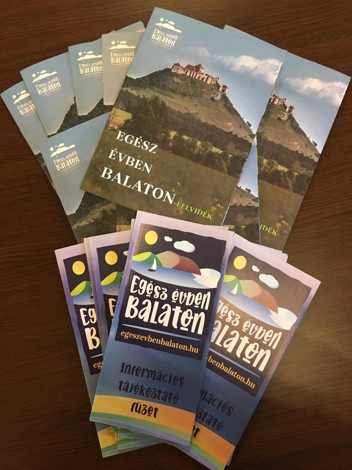 Megjelent Egész évben Balaton-felvidék című kiadványunk