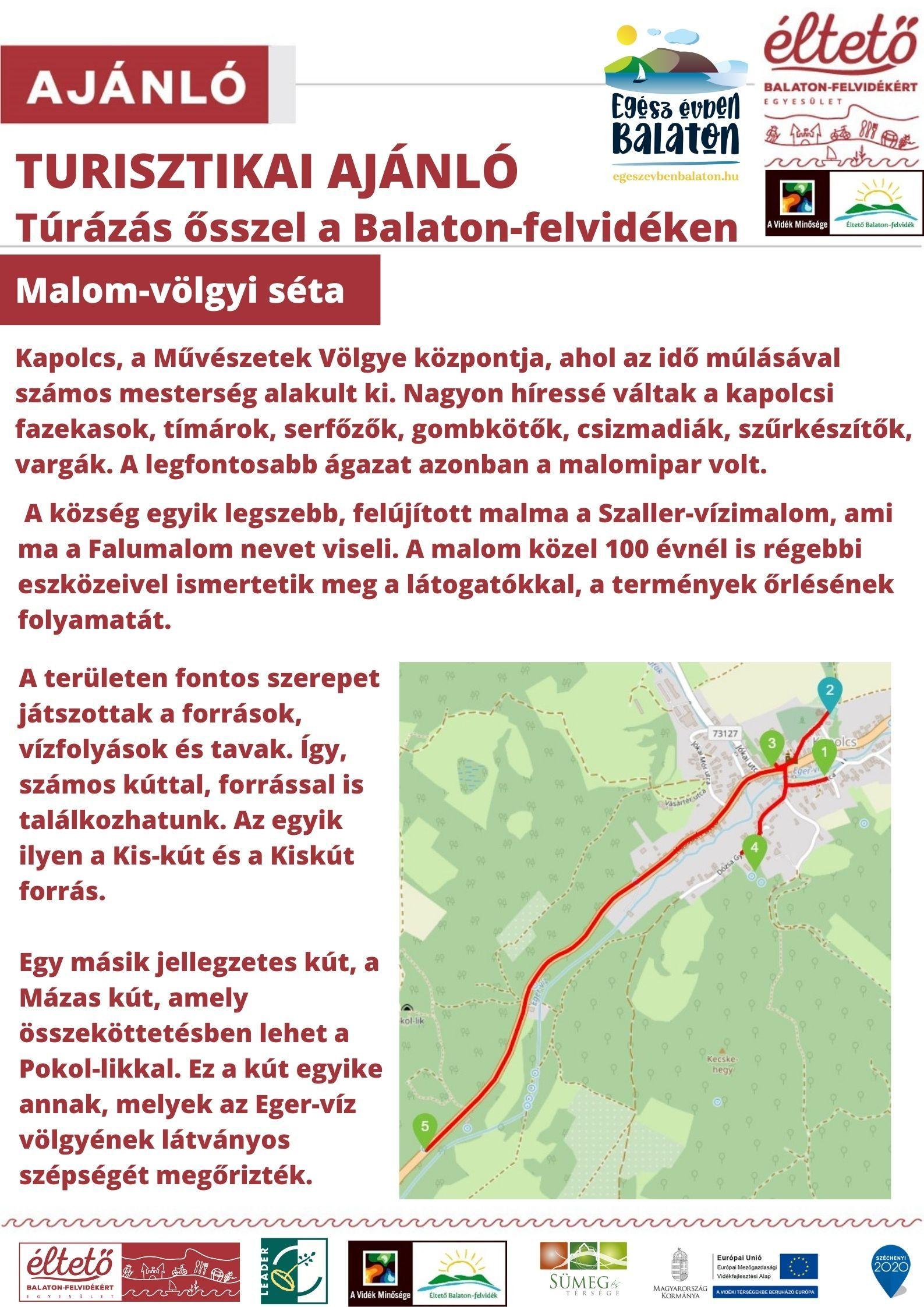 Malom-völgyi séta